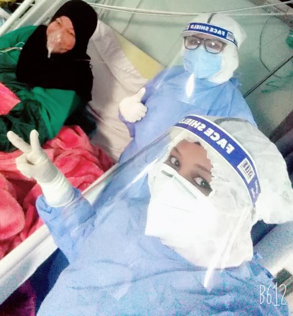 مستشفى الأقصر العام تشهد خروج 5 حالات شفاء من فيروس كورونا (2)