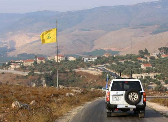 قوات حفظ السلام على الحدود اللبنانية الإسرائيلية