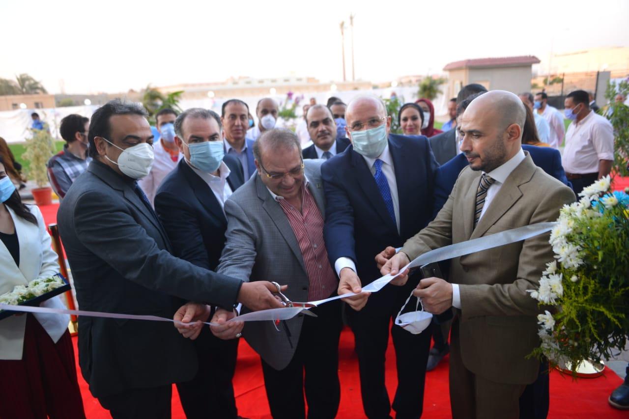 دار العزل الصحى لمستشفى سعاد كفافى (1)