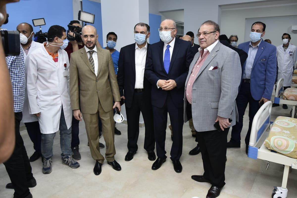 دار العزل الصحى لمستشفى سعاد كفافى (7)
