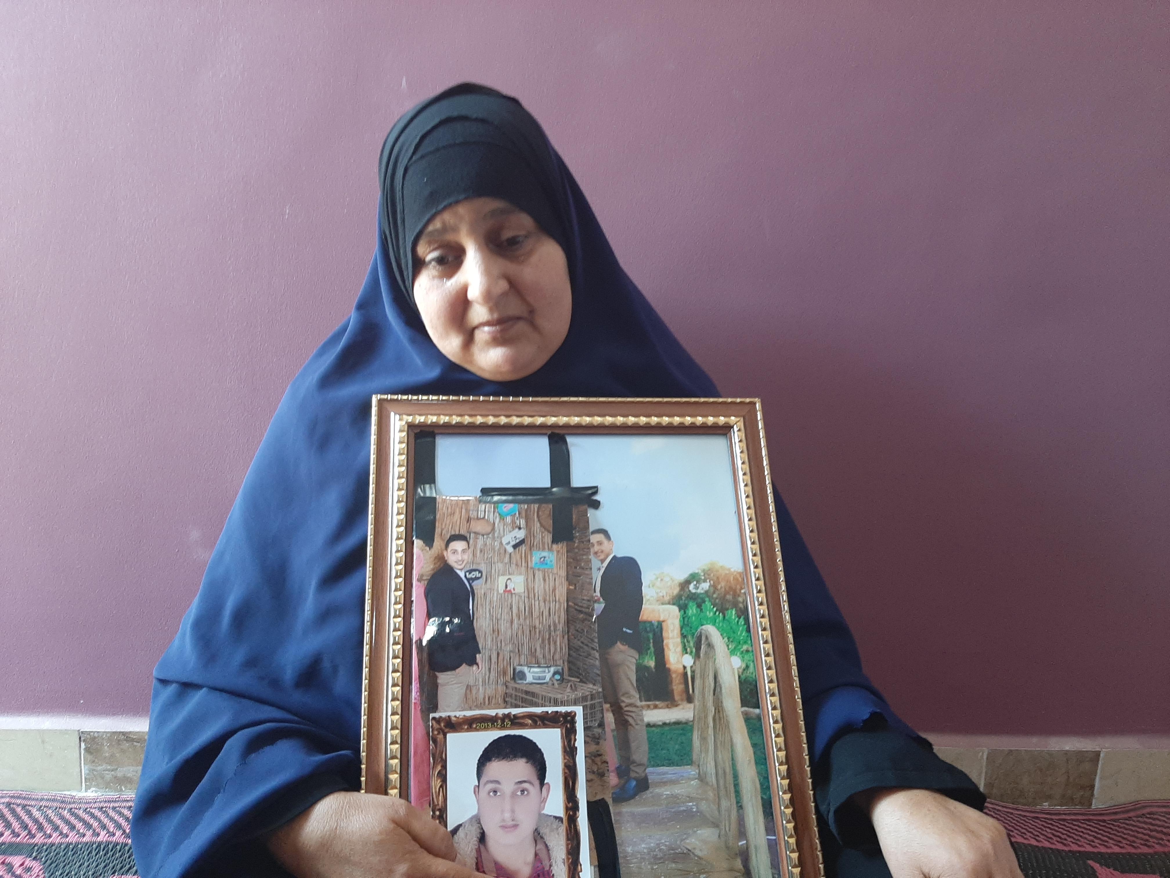 كريمة محمود  والدة أحمد عاطف