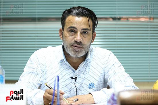المهندس أحمد فتحى مدير تسويق منافذ الزراعات المحمية بوزارة الزراعة