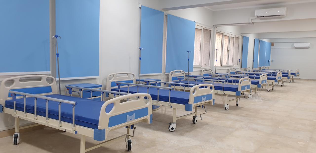 دار العزل الصحى لمستشفى سعاد كفافى (8)