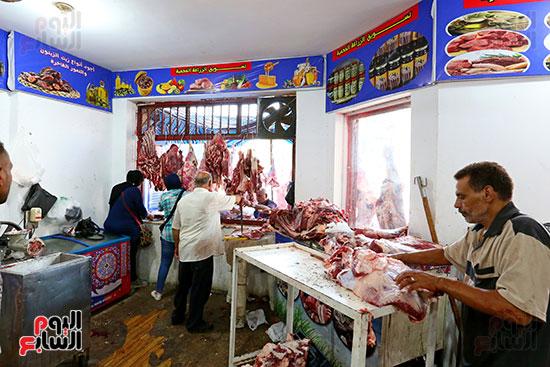 منفذ بيع اللحوم