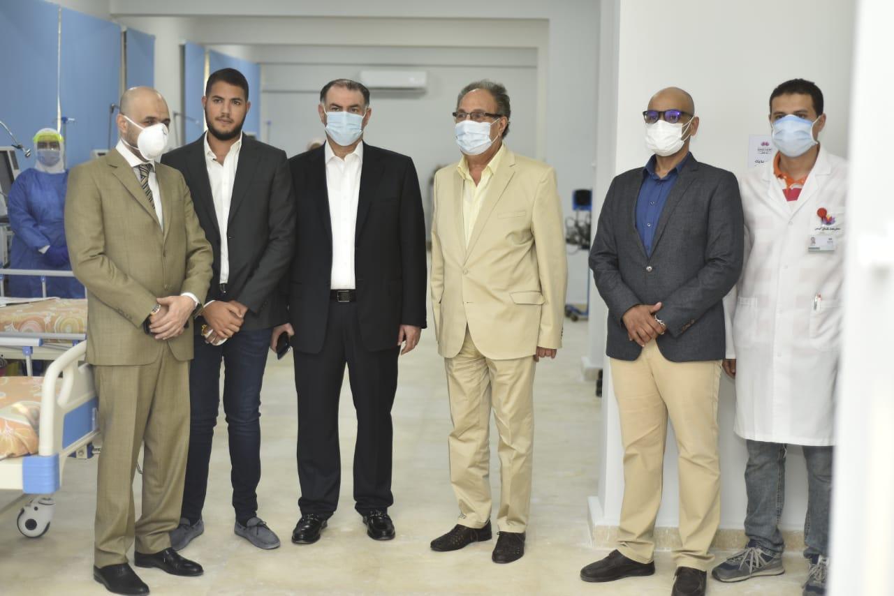 دار العزل الصحى لمستشفى سعاد كفافى (2)