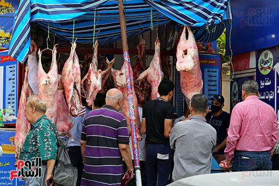 زحام على اللحوم