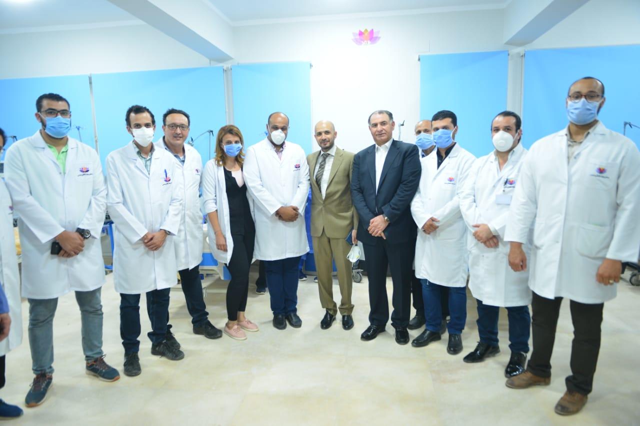 دار العزل الصحى لمستشفى سعاد كفافى (4)
