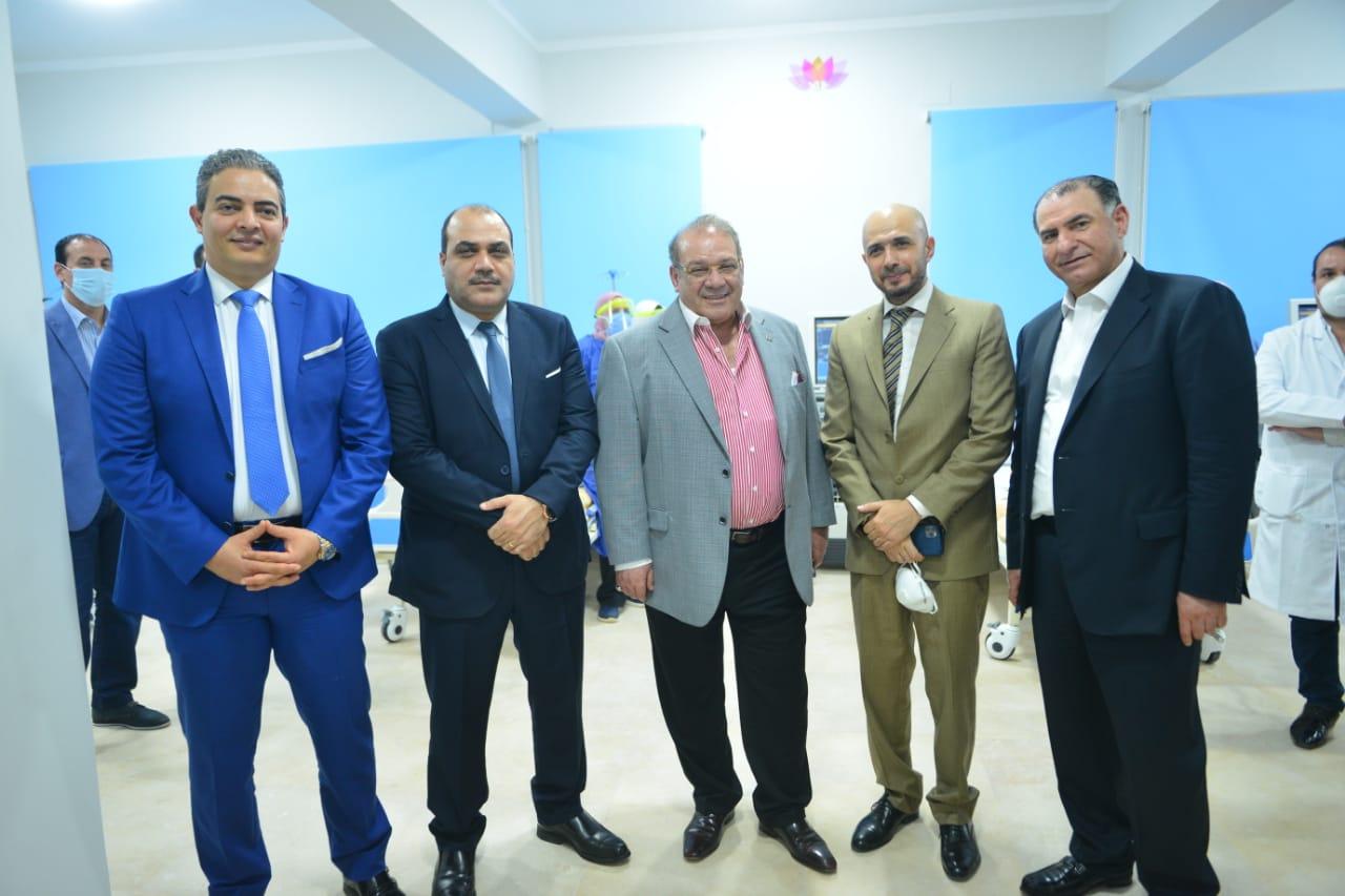 دار العزل الصحى لمستشفى سعاد كفافى (9)