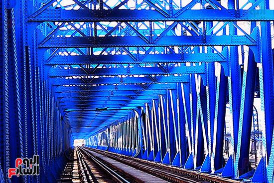 قضبان السكة الحديد