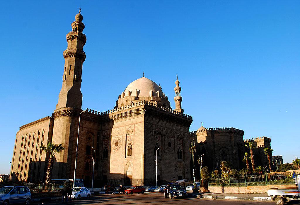 مسجد السلطان حسن فى القاهرة