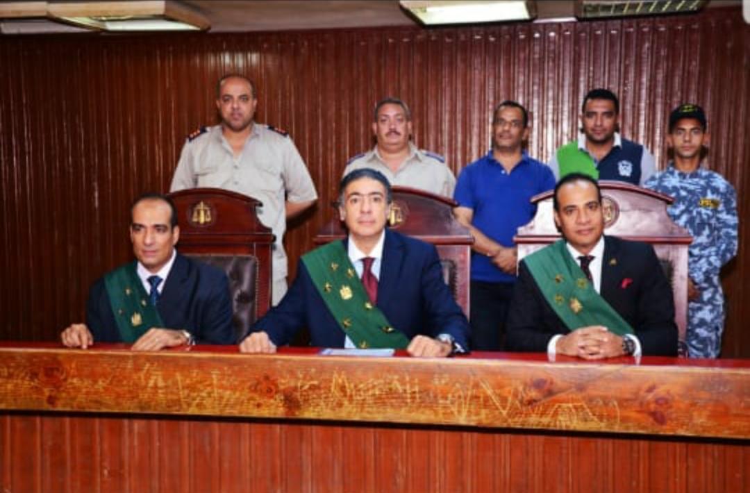 المستشار سامح عبد الحكم رئيس محكمة جنايات شبرا 2
