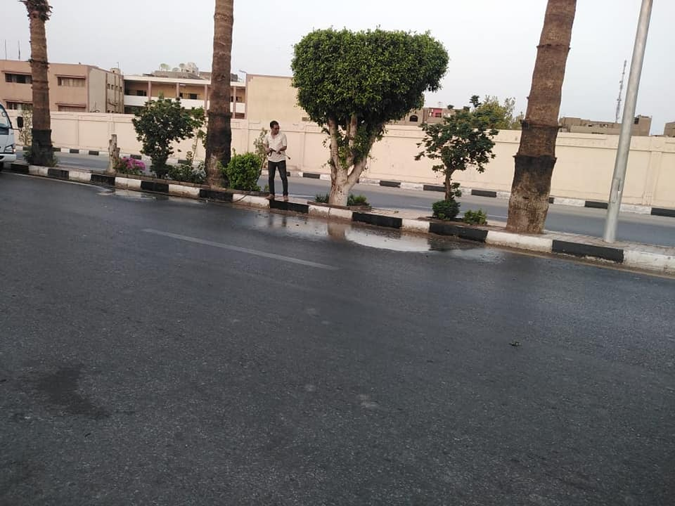 نظافة كبرى بشوارع حى جنوب الأقصر ورفع أكوام القمامة  (5)