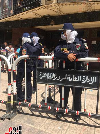 الشرطة النسائية تؤمن السينمات فى عيد الأضحى