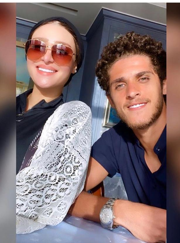 أحمد الشيخ و زوجته ندى