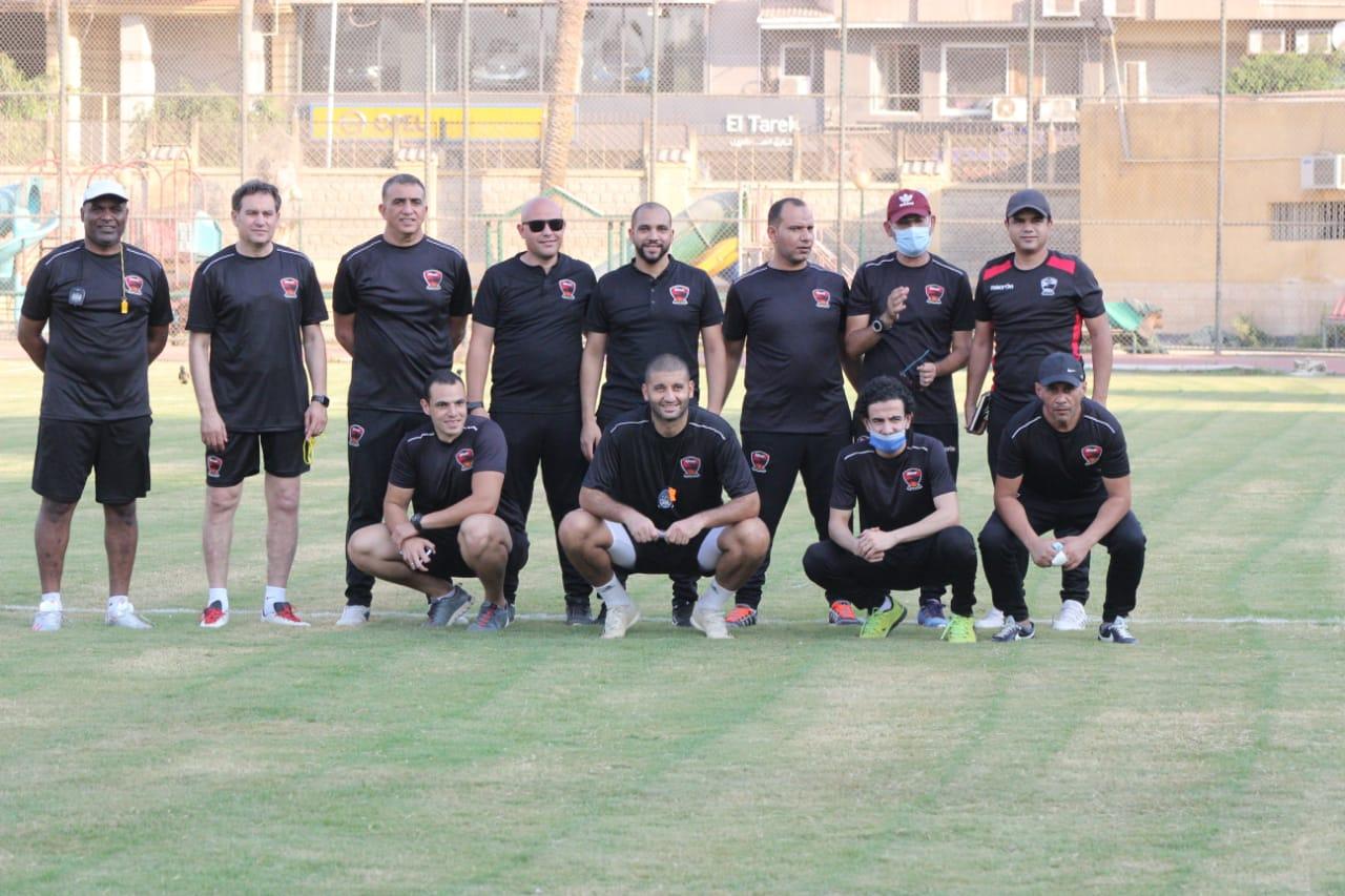 تدريب فريق مصر  (1)
