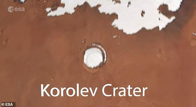 فوهة المريخ 1