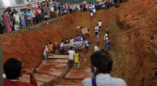 مقبرة في ميانمار