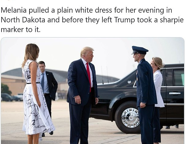 فستان ميلانيا