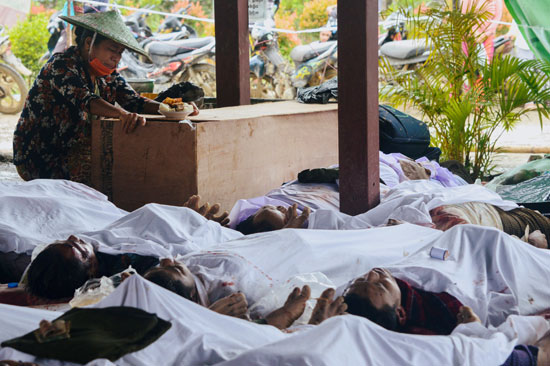 جثامين الضحايا