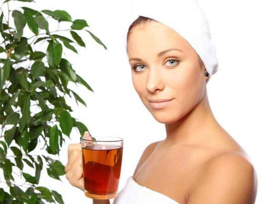 وصفات طبيعية من الشاى للعناية بالبشرة