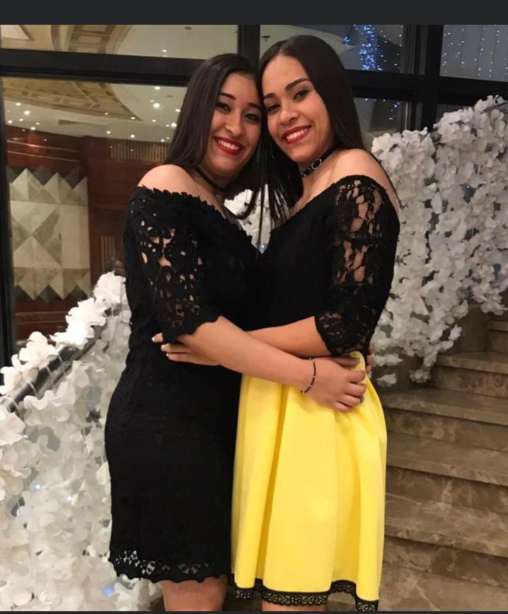 براء سعيد و شقيقتها 2