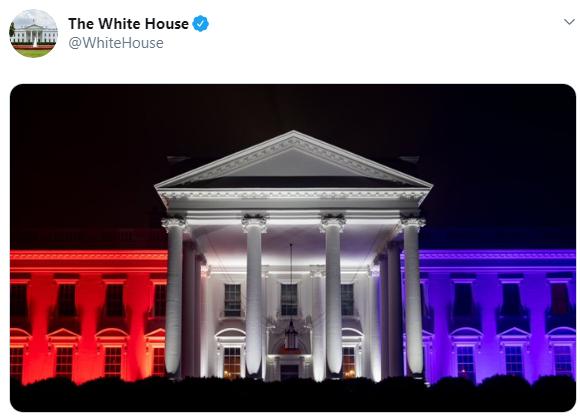 حساب البيت الأبيض