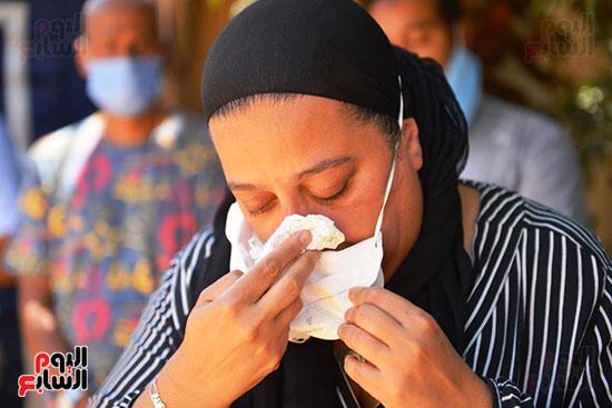 وصول جثمان رجاء الجداوي (22)