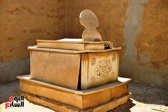 قبر رجاء الجداوى (6)