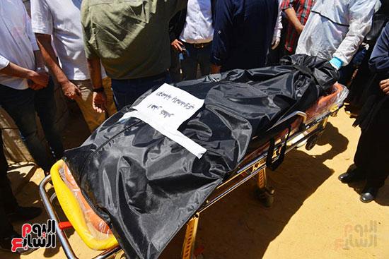 جثمان الفنانة رجاء الجداوي