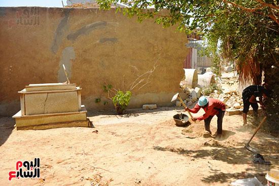 قبر رجاء الجداوى (4)