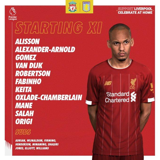 تشكيل ليفربول