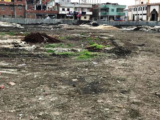 توقف أعمال التطوير بمركز شباب محمد صلاح (3)