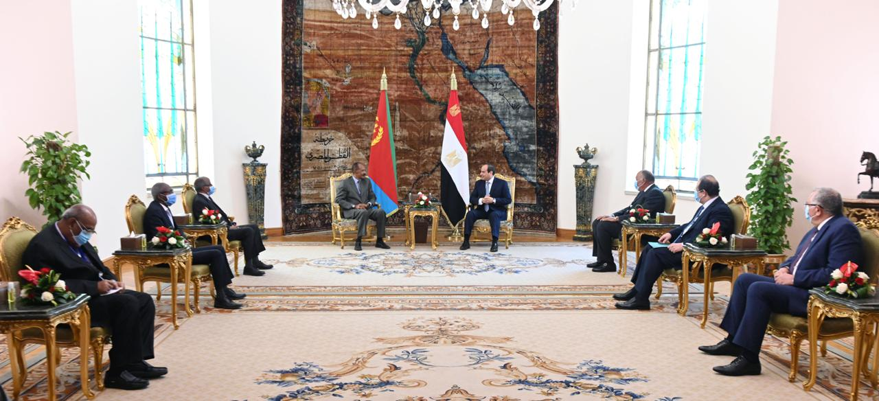 Sisi and his Eritrean counterpart (8)
