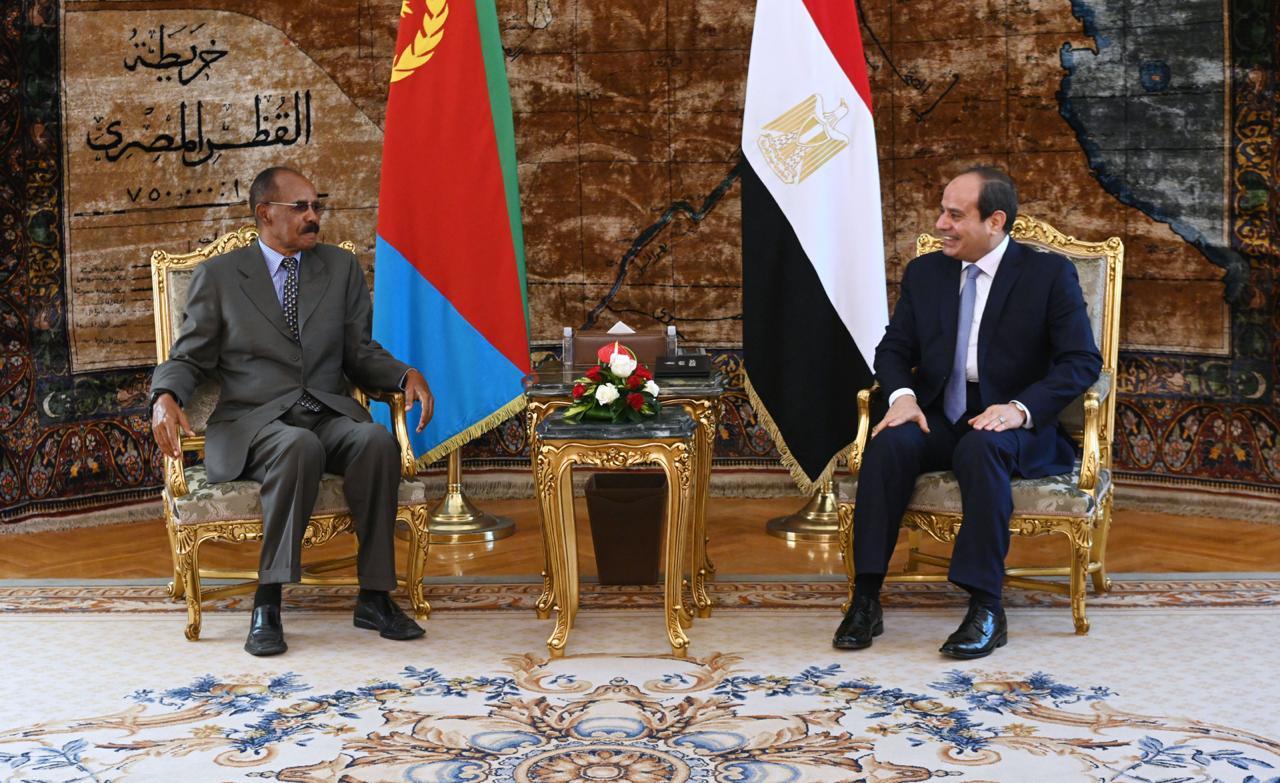 El Sisi and his Eritrean counterpart (2)
