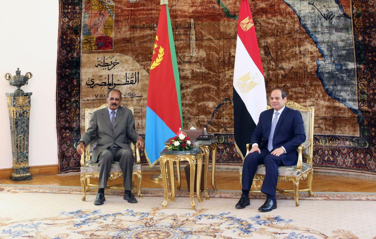 Sisi and his Eritrean counterpart (1)