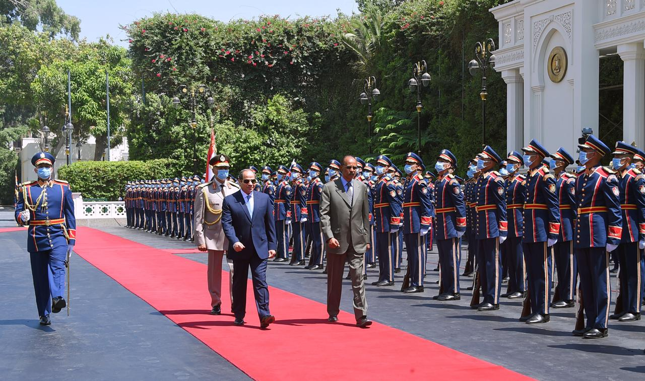 Sisi and his Eritrean counterpart (6)