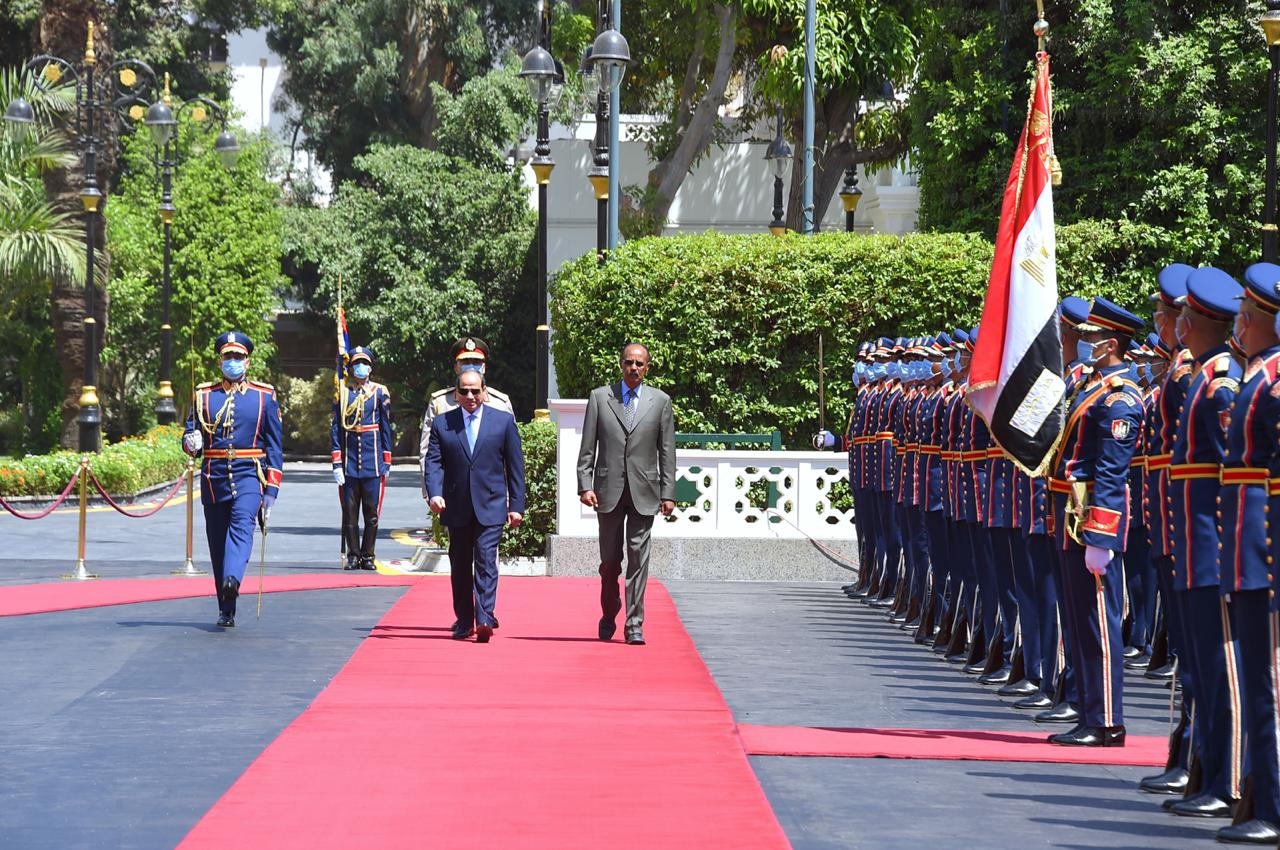 Sisi and his Eritrean counterpart (7)