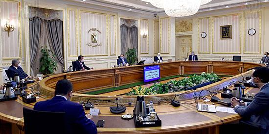 اجتماع المجموعة الطبية اليوم الأحد برئاسة الدكتور مصطفى مدبولى، رئيس الوزراء (1)