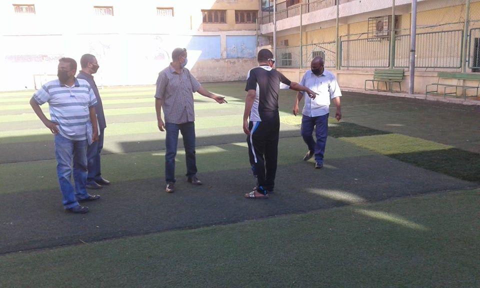 لجنة من الشباب والرياضة تتفقد الأندية ومراكز الشباب  (2)