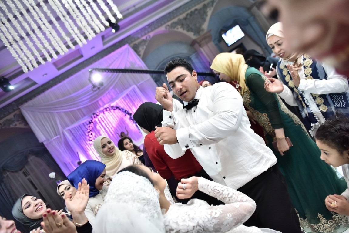 زفاف الشهيد خالد مغربي