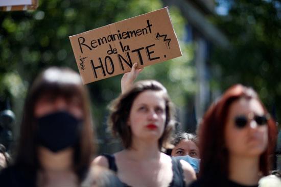 لافتات فى المظاهرة