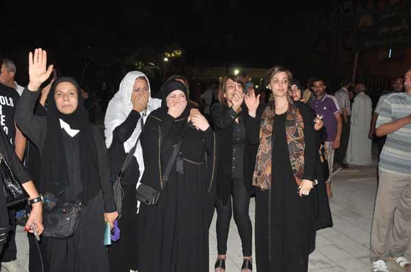 جنازة الفنان خالد صالح