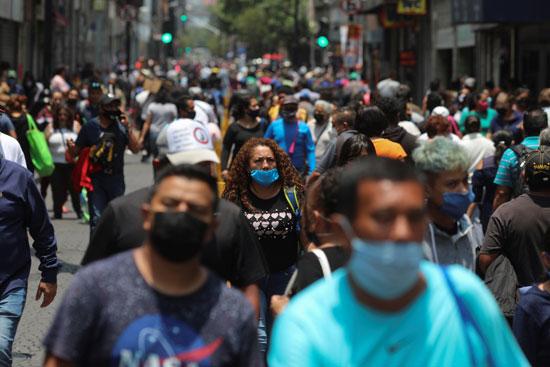 شوارع العاصمة المكسيكية مكسيكو سيتى