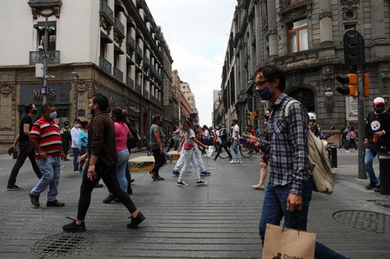 أحد شوارع مكسيكو سيتى