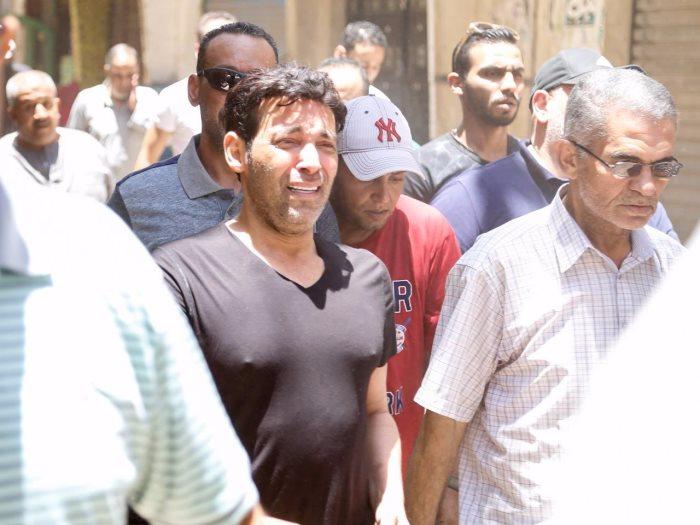 بكاء سعد الصغير بعد وفاة والدته