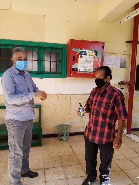 رئيس منطقة الأقصر الأزهرية يتابع الحالة الصحية للطلاب والإجراءات  (2)