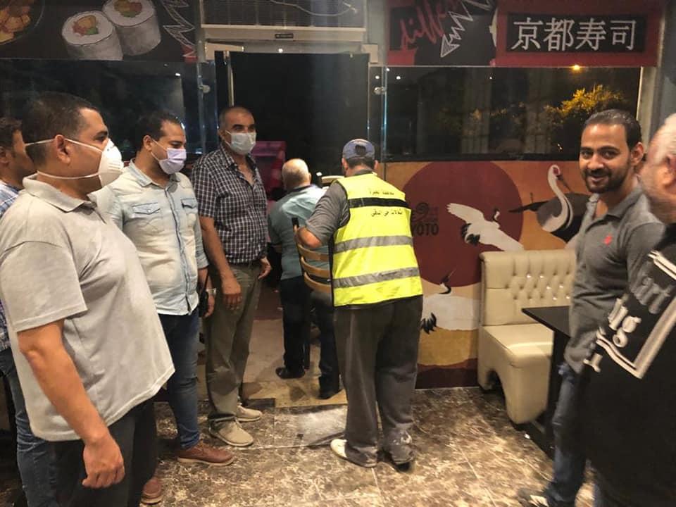 غلق مطعم صينى بالدقى (3)