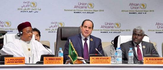 خطاب الرئيس السيسى في الاتحاد الأفريقي (3)