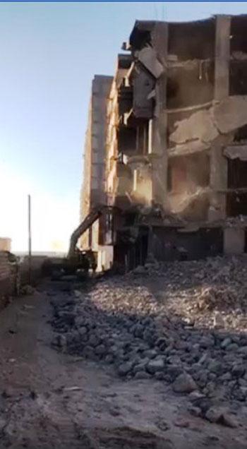 مخالفات البناء تطيح بأبراج الأحلام فى المحافظات (11)