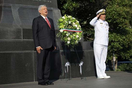 الرئيس المكسيكى خلال زيارته لواشنطن